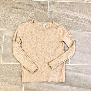 J Crew Cotton Teddie Sweater